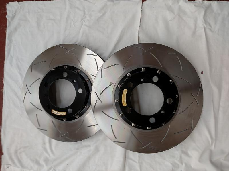 New 2 Piece Rotors